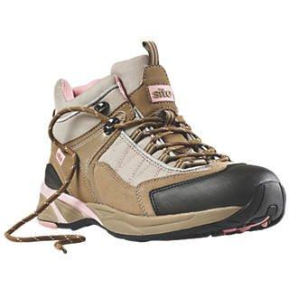 Site Ladies Safety Trainer Boots Beige Size 7 & 8 £9.99 @ ScrewFix