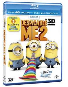 Despicable Me 2 3D Blu Ray £1 in Poundland
