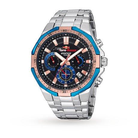 Casio Men's Edifice Toro Rosso Special Edition Chronograph Watch @ Goldsmiths - £140