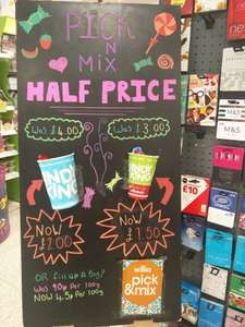 Candy king Sweets Half Price in Wilkos - 45p