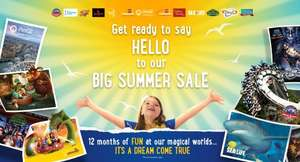 Merlin Annual Pass Summer Sale starts 1st June at 10am