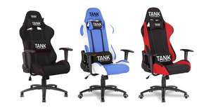 TANK Y-2711 Reclining 'Gaming' chairs £79.94 delivered at GAME / EarthCroc