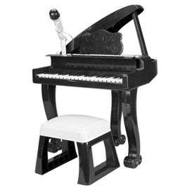 Kids Carousel Grand Piano  with stool and Mic £19.97 @ Tesco  (Free C&C or £3 delivery)