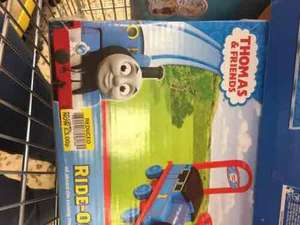 Thomas the tank engine push train £3 @ Tesco instore