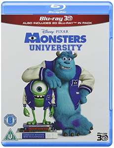 Monsters University (Blu-ray 3D + Blu-ray) £4.95 @Amazon (£6.94 non-Prime)