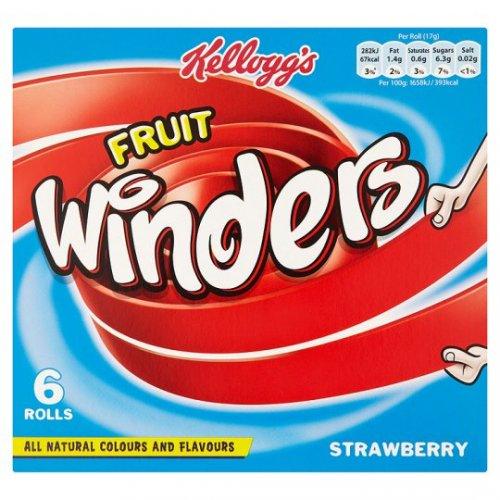 Strawberry fruit winders 6 pack £1 instore @ Poundland