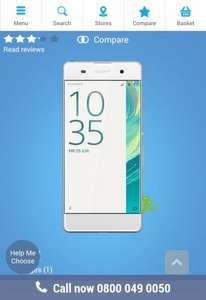 Sony Xperia XA Deal Sim Free £129.99 | Carphone Warehouse