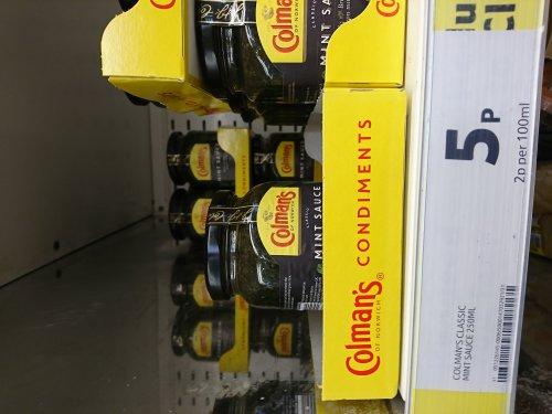 Colmans Mint sauce - 5p instore @ Tesco Craigavon