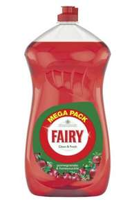 Fairy Clean & Fresh Washing Up Liquid pomegrante & honeysuckle 1410 ml £1 @ Amazon prime exclusive