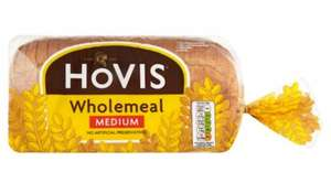 Free loaf of HOVIS Wholemeal bread, fresh slices of buttered toasts, 50p off vouchers given away at multiple locations