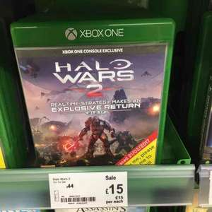 [XBOX ONE] Halo Wars 2 £15 @Asda - Wembley