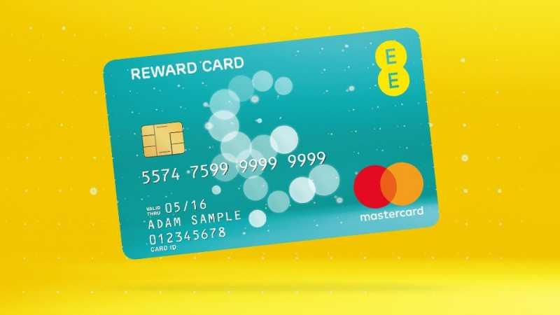 £75 reward card with EE upgrade