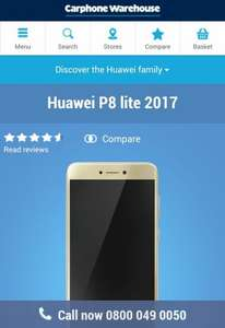 Huawei P8 Lite (2017) Deals - Contract, Pay As You Go & Sim Free