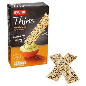 Up to 10 free Ryvita Thins Multi-Seed Flatbreads on Amazon Fresh