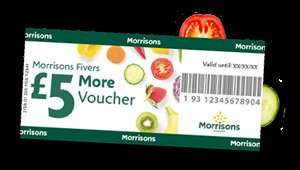 Double Morrisons More Points on Amazon Gift Cards (Equivalent to 5% back)