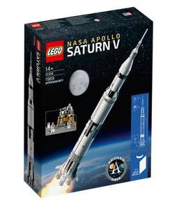 LEGO ideas 21309 NASA APPOLO Saturn V £109.99 @ John Lewis early release