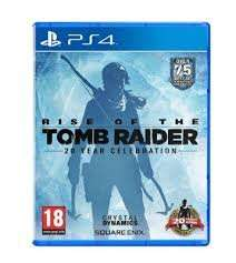 Rise Of The Tomb Raider: 20 Year Celebration PS4 £20.00 @ Tesco Direct