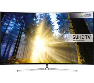 """SAMSUNG UE65KS9000 Smart 4k Ultra HD HDR 65"""" Curved LED TV  £1199.98 Currys with code"""