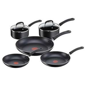 Tefal 5 Piece Non Stick Riveted Pan Set Was £90 now £36 at Tesco inc Click and Collect