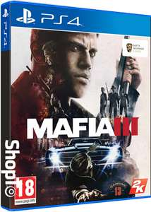 [PS4] / [Xbox One] Mafia 3 with family DLC + poster (new) @ shopto - £14.86