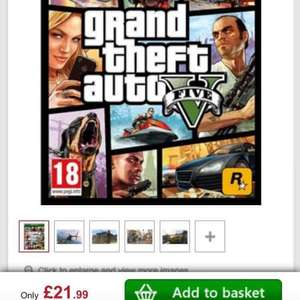GTA V - Xbox one - pre owned £21.99 @ studentcomputers