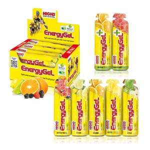 2x High5 Sports Energy Gel Mixed Flavours - Box of 20 (40 in total) £13.48 @ Probikekit (Using code)