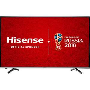 "Hisense H49M3000 49"" 4K Smart TV £329 with Free Del @ AO (Using code)"