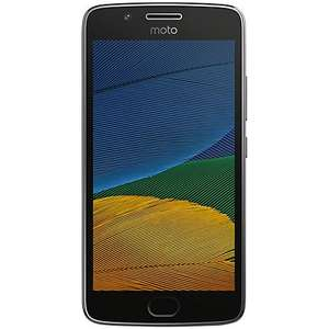 "Moto G5 Smartphone, Android, 5"", 4G LTE, SIM Free, 16GB, Grey/Gold £149 @ John Lewis £149"