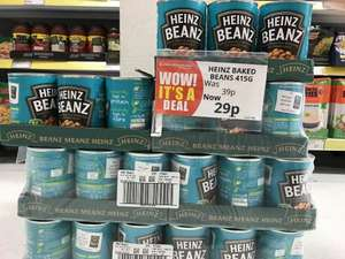 Heinz Baked Beans 415G 29p @ Poundstretcher instore/online