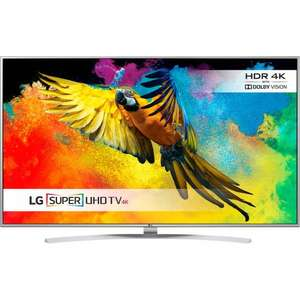 "LG 49UH770V 49"" Freeview HD and Freesat HD and Freeview Play Smart 4K Ultra HD with HDR TV  £489.00  ao.com with code"