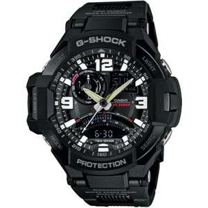 G-Shock Aviator Gravity Defier Compass Thermometer Black Watch GA-1000FC-1AERSALE, £128 from mayfair jewelerry
