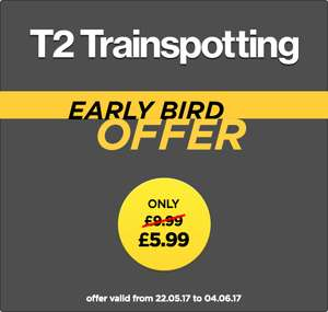 100% cashback when you purchase Trainspotting 2 on Wuaki via TCB