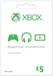 £5 Xbox gift card for £3.89 @ CDkeys (£3.70 with FB like code)