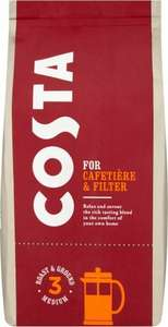 Costa Roast And Ground Coffee 200G £1.94 @coop