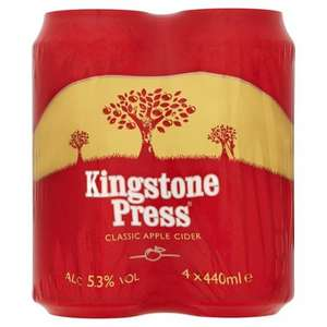 its baaack...£5.99 for 12 tins of kingston press cider 440ml ...nisa local