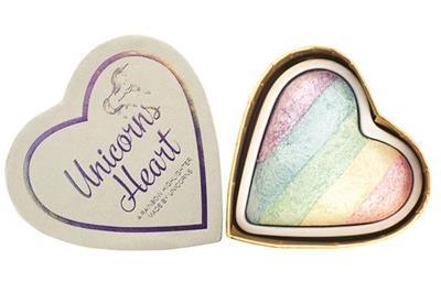 I Heart Makeup Unicorn Heart Rainbow Highlighter £4.99 delivered at Superdrug