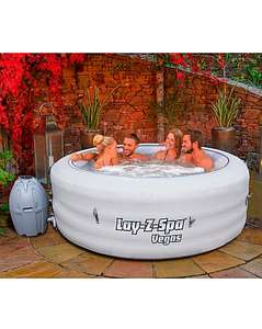 Lay Z Spa Vegas £247.75 Del with New Customer Code @ JD Williams