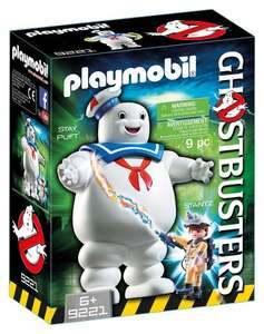 Stay puft marshmallow man Ghostbusters Playmobil with Ray for £13.60 + £2 C+C or Free Del with code @ Debenhams