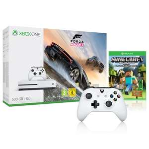 Xbox One S 500GB with Forza Horizon 3, Minecraft Favourites Pack and Extra Controller  £199.99 (inc VAT) @ Costco. Not In Store, Online Store. You don't need Costco Membership. Usually dispatched within 3 days.