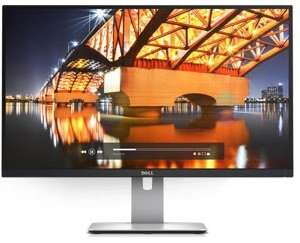 Dell U2715H 27 inch IPS LCD Monitor 2560x1440 £369.92 @ Amazon