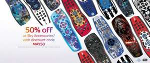 50% off Sky remotes at Sky shop using code