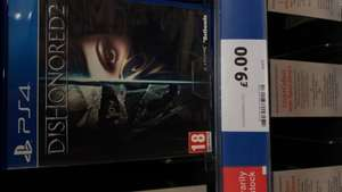 Dishonored 2 £9 @ Tesco instore