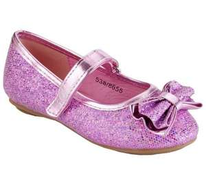 Disney Princess Glitter Shoes £5.49 at Argos