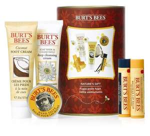2x Burt's Bees Nature's 5-Piece Gift Set + 1x Burt's Bees Kissable Colour Lip Shimmer £19.98 @ Amazon