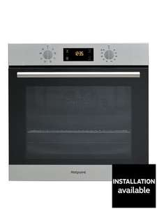 Hotpoint SA2540HIX 60cm Built-in Single Oven @ VERY for £166.98 with code