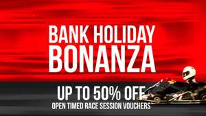 Teamsport Go Karting 3 Day Flash Sale. Multiple UK locations. Only £15 for a timed 30 minute racing session.