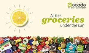 £40 of Ocado Groceries for £21.75 - £60 of Groceries for £33 - £80 of Groceries for £44.25 + Free Delivery Pass + Further £5 off (see post) @ Ocado via Groupon