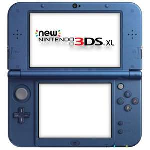 New 3DS XL (Black or Blue) £149 @ Tesco Direct