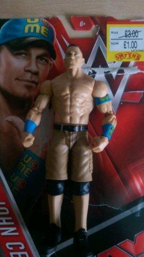 WWE John Cena Figure £1 @ Smyths Salford Eccles