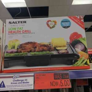 Salter low fat health grill reduced to £5 B&M in store